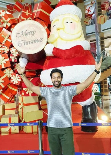 Saurabh Pandey: Christmas is about caring, sharing and giving