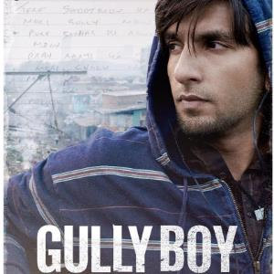 GULLY BOY new poster showcases the power of words