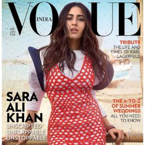 Sara Ali Khan is Unscripted, Unflappable and Unstoppable in her recent magazine cover