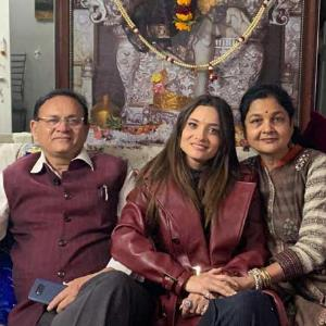 Find out why Ankita Lokhande's parents are on cloud nine