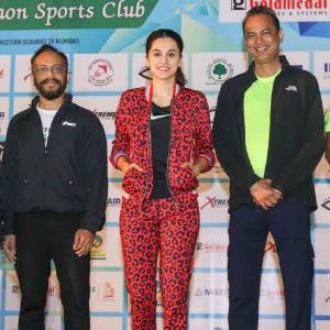 Actress Taapsee Pannu flags off GSC's Awarathon on 'World Cancer Day'