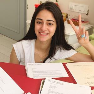 Will not be attending university for now: Ananya Panday