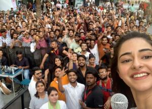 Teen sensation Ananya Panday takes a tour of Indore and Bhopal, Check out