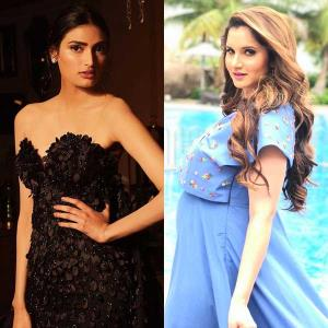 Sania Mirza, Athiya Shetty join hands for a social cause