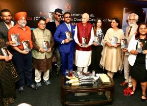 Celebrities and politicians at Bad Man book launch