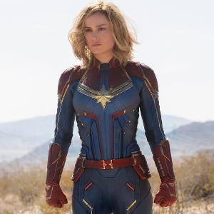 Check out Captain Marvel Behind the Scenes