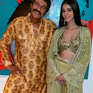 What has Chunky Panday to say on Ananya