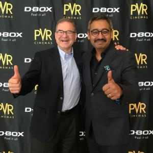 PVR in association with D-BOX launches India's first D-BOX motion seat technology