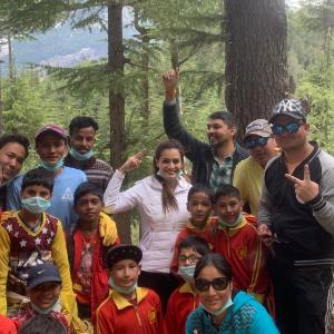 Dia Mirza does her bit for Himachal Pradesh