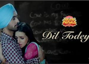 """Arjun Patiala back with a new but a heartbreaking song """"Dil Todeya"""""""