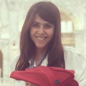 It's lullaby and story time for Ekta Kapoor