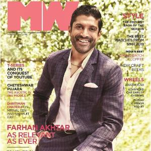 Farhan Akhtar looks dapper as he graces the cover of a leading magazine