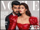 Arjun Kapoor and Athiya Shetty latest cover shoot is 'Voguish'
