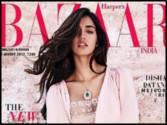 Disha Patani looks pretty in pink on the latest cover of a magazine