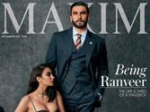 If hotness could be defined its Ranveer Singh on this magazine cover!