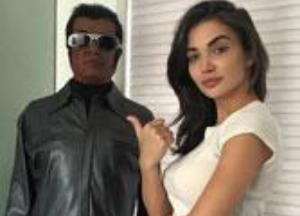 Amy Jackson-Rajinikanth will perform dance steps inspired by MJ in 2.0
