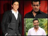 Guess who is the highest paid star - Shah Rukh, Salman or Akshay?