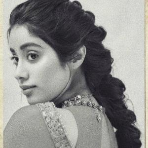 Janhvi shares throwback picture
