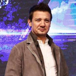 Why Jeremy Renner feels blessed