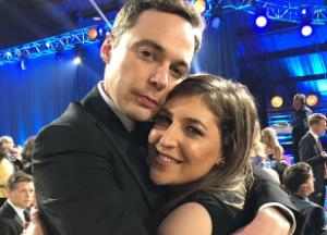 Mayim Bialik, Jim Parsons to reunite for a comedy show