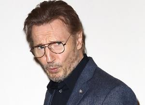 When Liam Neeson was caught pouting
