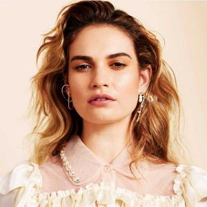 Lily James wants to shed her CINDERELLA image