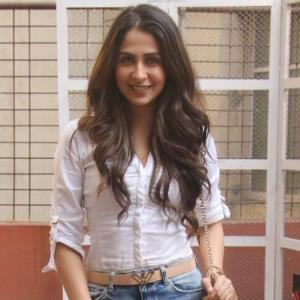 Malvika Raaj gets the audience to roar at a college fest