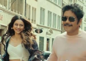 Manmadhudu 2 releases its official trailer