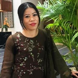 Boxer Mary Kom turns panelists for a scholarship programme