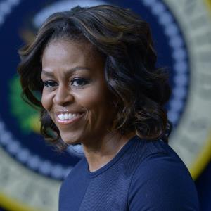 Michelle Obama makes a strong speech at the Grammy