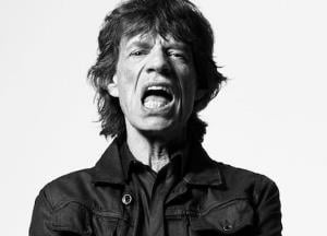 Mick Jagger's night out with mysterious woman