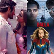 MILAN TALKIES leads but..Amitabh's BADLA catches up CAPTAIN MARVEL