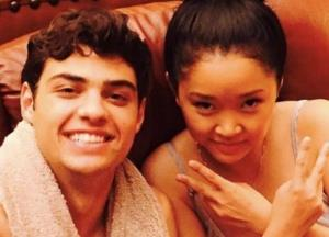 Noah, Lana start shooting for 'To All the Boys I've Loved Before' sequel