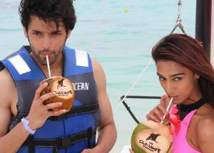 Parth Samthaan and Erica Fernandes enjoying an exotic vacation
