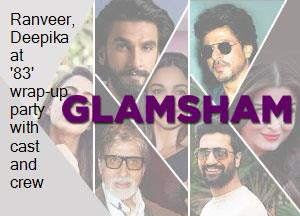 Ranveer, Deepika at '83' wrap-up party with cast and crew