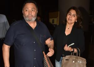 Rishi Kapoor returns to India after treatment