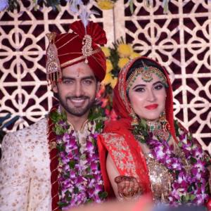 Rohit Purohit and Sheena Bajaj are man and wife now!