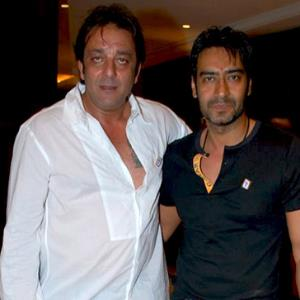 Sanjay Dutt and Ajay Devgn's collaboration is epic