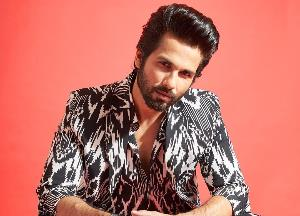 """Shahid Kapoor shares a video as he preps for """"Jersey"""""""