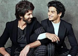 Ishaan: Shahid has been a shining example for me
