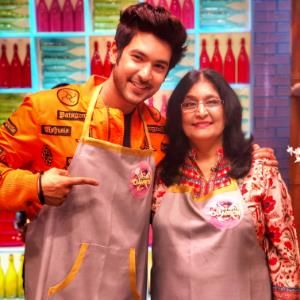 Shivin on taking his mother for Kitchen Champions