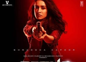 Shraddha Kapoor stuns everyone with her SAAHO Poster