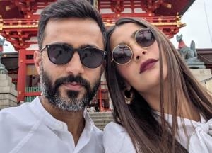 Sonam Kapoor wishes Anand Ahuja in the most beautiful way