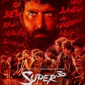 Check out the new release of Hrithik's 'Super 30'