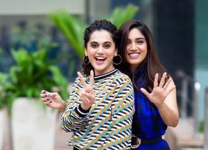 Taapsee Pannu and Bhumi Pednekar takes you back in the 70's era