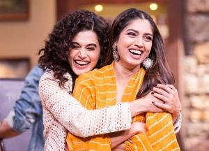 Taapsee Pannu, Bhumi Pednekar pledge to support the cause of girl child