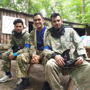 Team India trolled for 'fun day out in the woods'