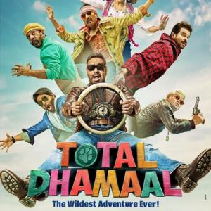 TOTAL DHAMAAL impresses at 17 crore, GULLY BOY at 70!!