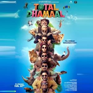 Anil-Madhuri & Ajay's TOTAL DHAMAAL on way to a hit status!