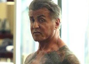 Sylvester Stallone reveals gym toned body
